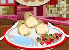 Bánh ngô cuộn trứng
