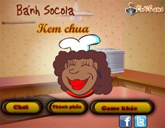 Bánh Sôcôla Kem Chua