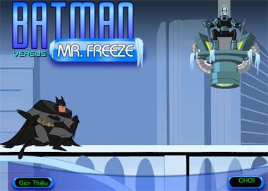Batman đọ sức với MrFreeze