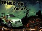 Lái xe Halloween