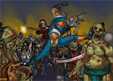 Ninja diệt Zombies