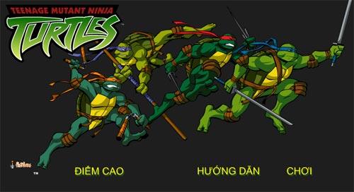 Ninja rùa phi tiêu
