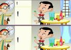 Tìm điểm khác nhau Mr Bean