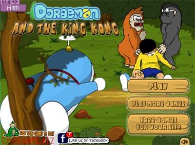 Doremon vùng đất king kong
