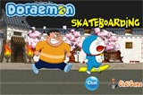 Doremon trượt ván