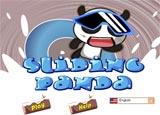 Gấu Panda trượt tuyết