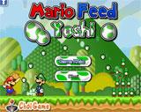 Mario cho khủng long ăn