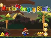 Mario trộm trứng của Angry birds