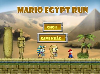mario trốn thoát kim tự tháp