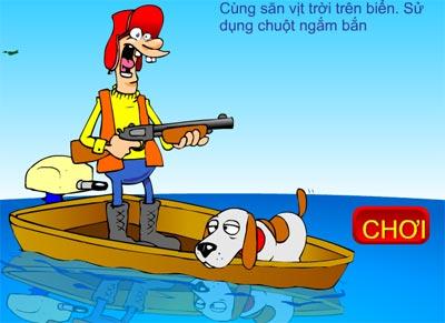 Săn vịt trên biển