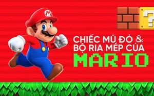 Bí mật về chiếc mũ đỏ và bộ ria mép của Mario