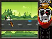 Odyssee - Frog Motorbike Game