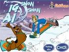 Scooby trượt tuyết