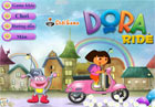 Dora tập lái xe