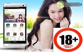 Kho game Việt bị giả mạo với quảng cáo sex