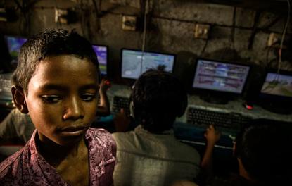 Những quán game không bao giờ đóng cửa tại Bangladesh