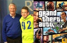 Game thủ 11 tuổi dùng kỹ năng chơi GTA cứu sống ông nội