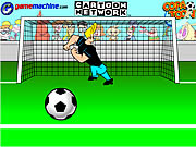Game Johnny Bravo In Bravo Goalie