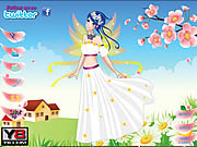 Game Flower Fairy Cutie Dress Up