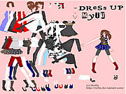 Game Dress Up Myuu