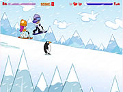 Game Hi Hi Puppy Ami Yumi - Snow Scooter