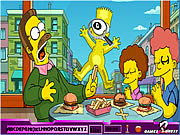 Game Hidden Alphabets - Simpson