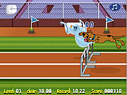 Game Scooby Doo Hurdle Race