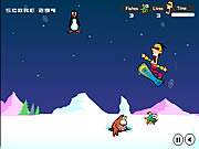 Game Snowboard Safari