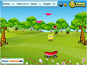 Game Spongebob Squarepants - Food Catcher