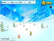 Game Spongebob Squarepants - Snowboard Rider