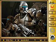 Game Star the Clone Wars - Find the Alphabets