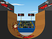 Game Extreme Taz Skateboard Halfpipe