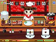 Game Sushi Serving