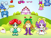 Game Three Fairy Dressup